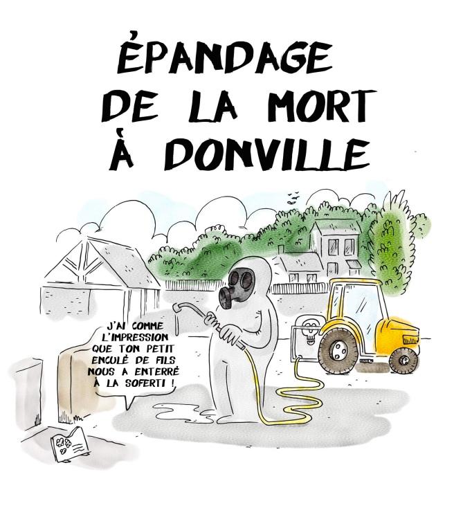 épandage donville