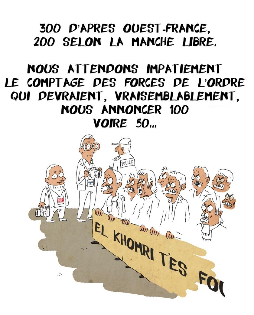 Manifestation loi travail granville 31 mars 2016