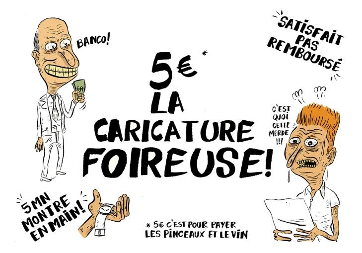 Caricature foireuse